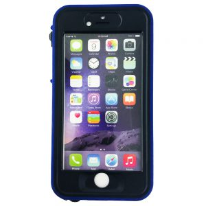 GeveyBox Umbrella iPhone 6 6S Waterproof Case- BLUE