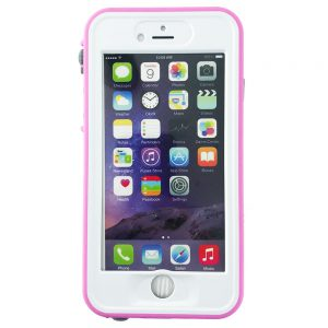 GeveyBox Umbrella iPhone 6 6S Waterproof Case- PINK