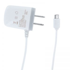 Home Micro Travel Charger- WHITE