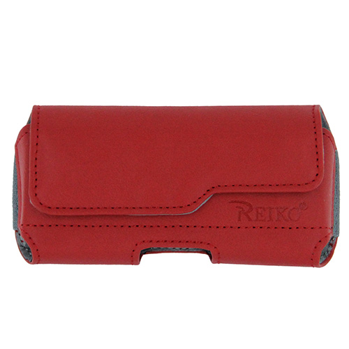 iPhone 5 5S Pouch Case Red